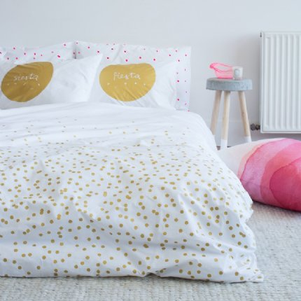 Sprinkle Sprinkle Sheet Set - Gold
