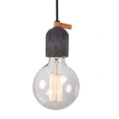 kaleido concrete pendant light