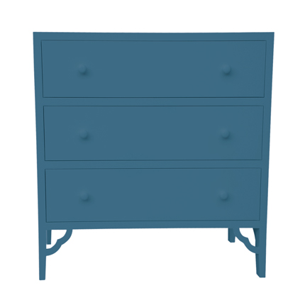 petite rouge chest of drawers - colour options