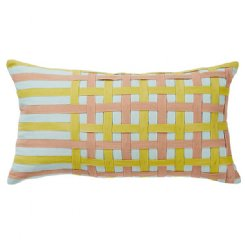 Annabelle Check Cushion