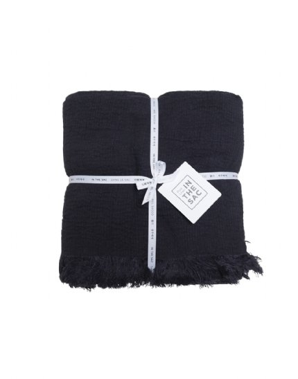 Avenue Throw - Charcoal