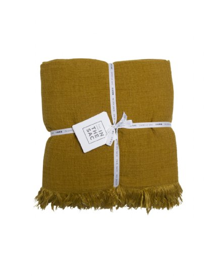avenue throw - mustard