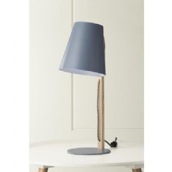bae table lamp - grey/blue