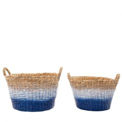 playa ombre baskets - set of 2
