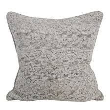 bhujodi mud linen cushion