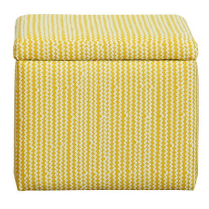 Upholstered Toy Box - Mellow Yellow - EX-DISPLAY