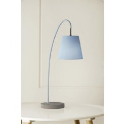 boozer lamp - blue