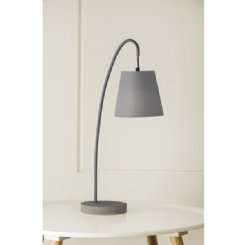 boozer lamp - grey