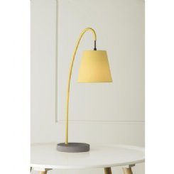 boozer lamp - yellow