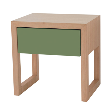 colour box bedside table - 6 colour options