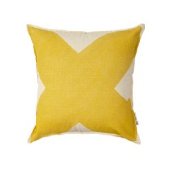 X Cushion - Ochre