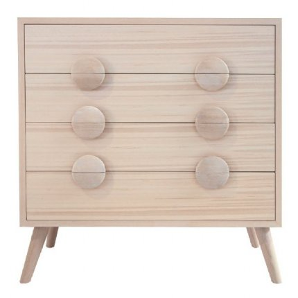 charlie chest of drawers - white wash