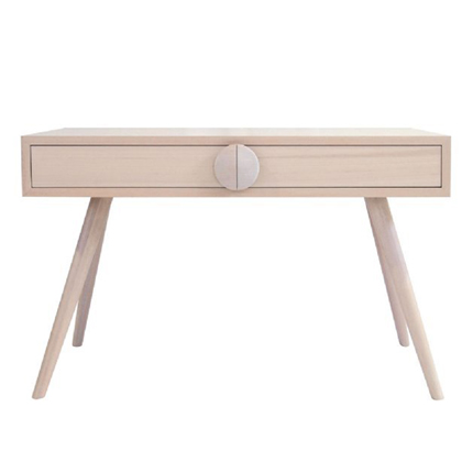 charlie desk - white wash