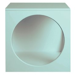 circle bedside table seconds - EX-DISPLAY