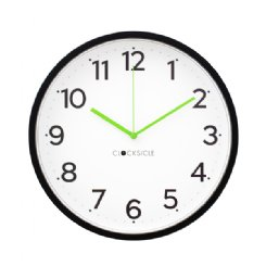 Neon black Wall Clock