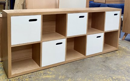 scoop bookcase - SAMPLE