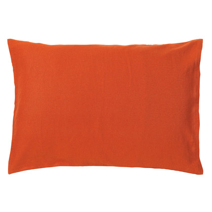 Linen Pillowcase - Paprika