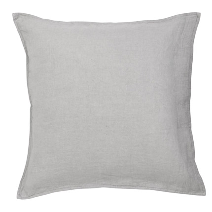 Quilty Pleasures Linen European Pillowcase - Dove grey