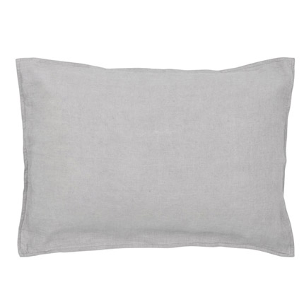 Quilty Pleasures Linen Pillowcase - Dove grey