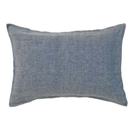 Quilty Pleasures Linen Pillowcase - Denim/Navy