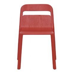 hollywood chair - red