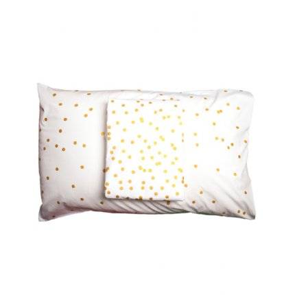 Sprinkle Sprinkle Pillowcase Gold