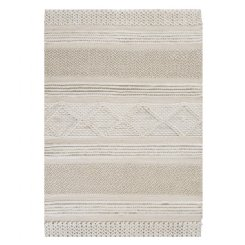 Jasper Knit Rug - White - EX DISPLAY