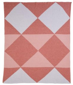 Jester Baby Blanket - Melon/Shell