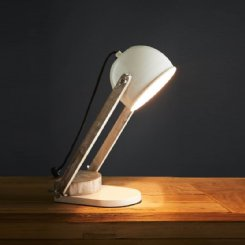 karl desk lamp - white