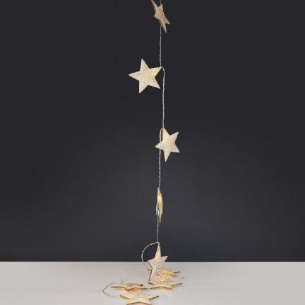 Star Metal String Garland