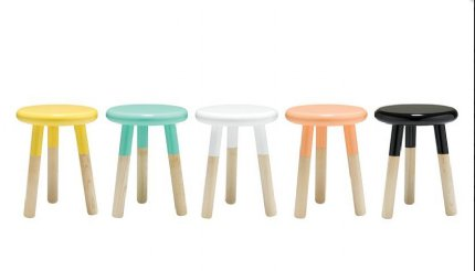 Malmo Stool / Chair - Teal