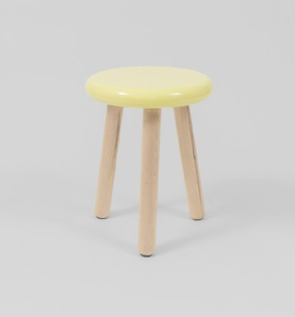 malmo stool - lemon - ex-display stock (slightly damaged)