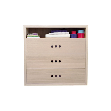 marina chest of drawers - white wash