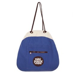 captain blue  mini pouch