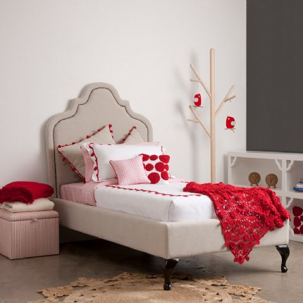 modern princess bed single
