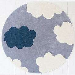 My Bright Cloud Rug - Cloudy