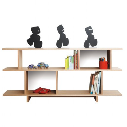 ned bookcase 2 tiered