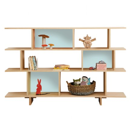 ned bookcase 3 tiered colour options