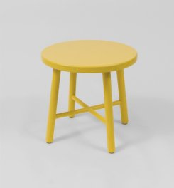 nord side table - yellow
