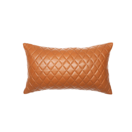 Pages Quilted Cushion - Tan