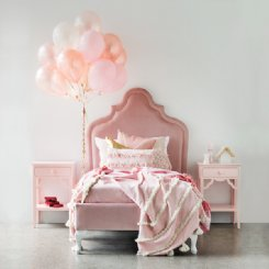 modern princess bed single - cleo