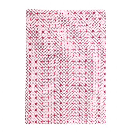 Petite Rouge Fitted Cot Sheet
