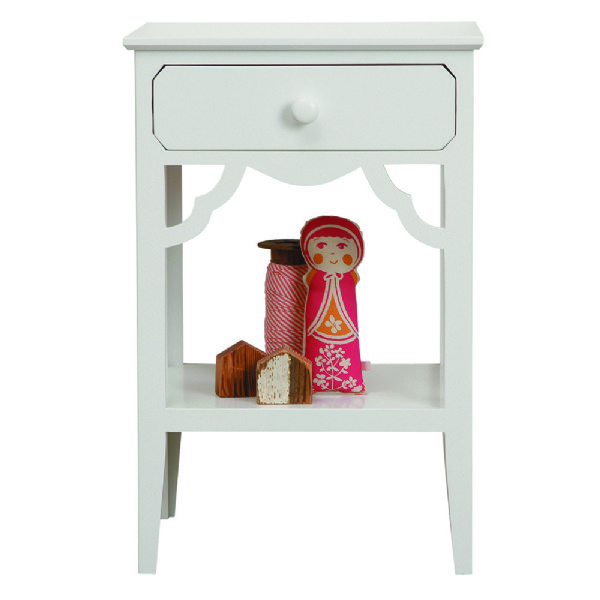 petite rouge bedside table lilly lolly. Black Bedroom Furniture Sets. Home Design Ideas