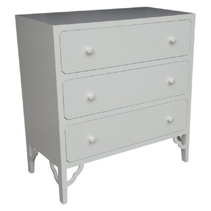 petite rouge chest of drawers - white