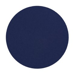 round pin board - royal blue