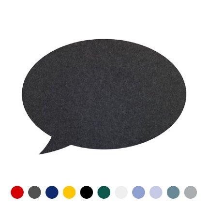 speech bubble pin board - medium