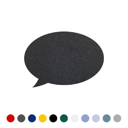 speech bubble pin board - sm