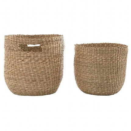 playa deta baskets - set of 2