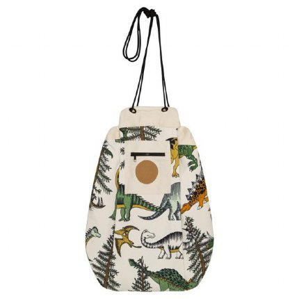 Printed Play Pouch - Dinosaur