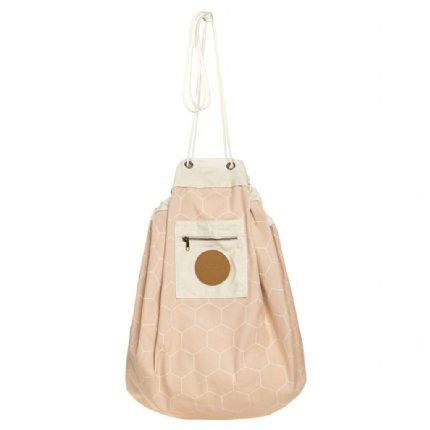 blush honeycomb play pouch